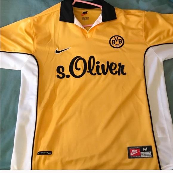 Cuña plato Duque  Nike Shirts | Bnwt Rare Nike Borussia Dortmund Home Shirt | Poshmark
